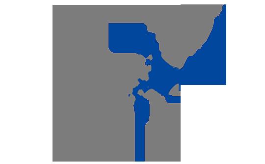 北海道と本州の面積比較