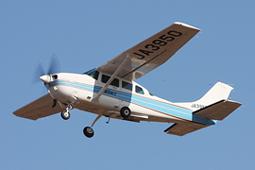 航空機と撮影機材