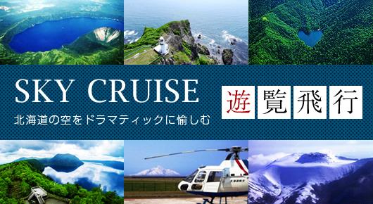 SKY CRUISING 遊覧飛行 北海道の空をドラマティックに愉しむ