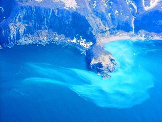 知床 カムイワッカの滝